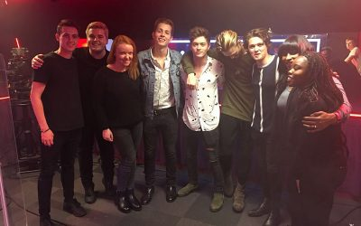 THE VAMPS at RADIO 1 LIVE LOUNGE