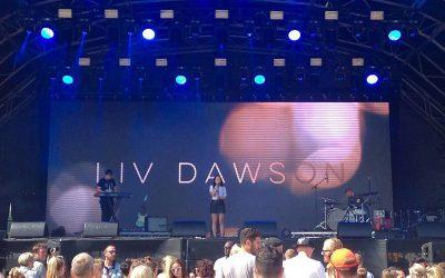 LIV DAWSON at the GREAT ESCAPE FESTIVAL