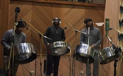 Studio recording for group M.O.