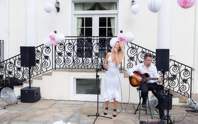 AKLASS performers entertaining for a private event